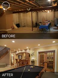 basement remodels. Modren Basement Before And After Basement Remodeling  Sebring Services For Remodels E