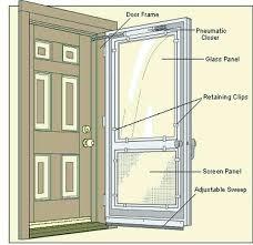 andersen storm door 3000 vs 4000 storm doors storm door parts page intended for storm
