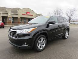 2016 Used Toyota Highlander Limited Sport 4x4 Heated/Cooled ...