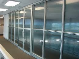 Transparent Aluminium Aluminium Partition Silica Studio