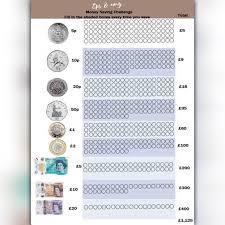 Ipon Challenge Chart Money Saving Shade Challenge Uk Eps And Amy