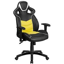 comfortable office chairs for gaming. you get all-day comfort with the contemporary flash furniture executive gaming chair. a mattress-like feel, featured coil spring cushioning that comfortable office chairs for e