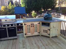 best big green egg built in outdoor kitchen