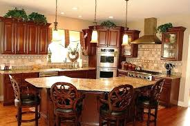 extraordinary curved kitchen bar island breakfast with sink design top idea
