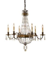 paris 6 arm antique bronze crystal chandelier pertaining to awesome residence antique bronze chandelier plan