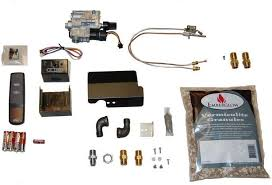 remote controlled safety pilot conversion kit for vented gas logs fireplaces emberglow