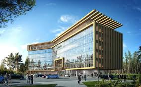 Terrific Superb Small Office Facade Design Modern Office Building Facade  Design Full Size Office Space Office