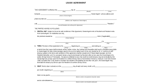 Lease Agreement In Pdf Unique Lease Form Sample 48 Free Documents In Word PDF