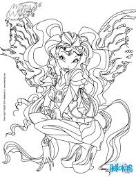 Coloriages Laya Transformation Bloomix Fr Hellokids Com