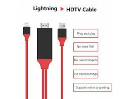 lightning to hdmi cable hdtv tv digital av adapter for apple iphone 5 6 7