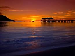 sunset summer beauty beautiful sea