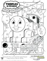 Coloring Pages Trains Thomas The Train Coloring Pages The Train
