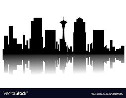 Seattle Cityscape Seattle Cityscape Silhouette