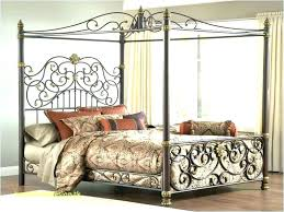 wrought iron bed frames cast frame queen s white picture holder vin antique wrought iron