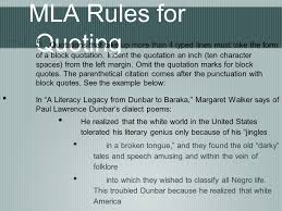 Mla Quoting And In Text Citations Ppt Video Online Download