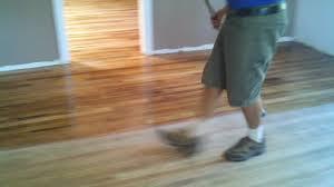 applying bona mega waterborne wood floor finish in phoenix arizona you