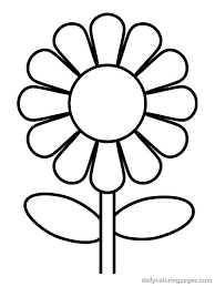 Small Picture Free Coloring Pages Flowers Coloring Pictures Fresh At Decor