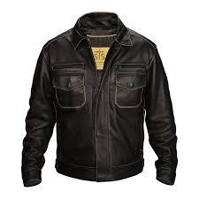 sts rambler jacket crazy horse black