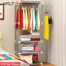 canvas closet organizer total ideas portable storage fabric wardrobe koala baby gray