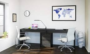 Office desk for two people Side By Side Desk For Two People 1 Pick For Home Office Nexera Serenit Computer Desks Best Computer Desks For Two People Computerdeskz