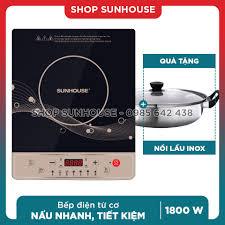 Bếp từ cơ SUNHOUSE SHD6148 / SHD6149 (kèm nồi lẩu) tại Hà Nội