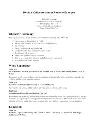 Medical Assistant Cover Letter No Experience Sample Cover Letter For