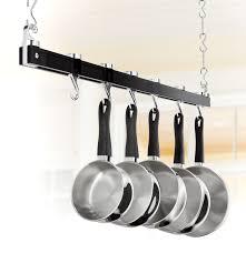 Hanging Kitchen Pot Rack A Beautiful Kitchen Pot Racks Home Design Ideas