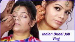 best indian bridal makeover glam makeup saree look bridal job rose hair makeup artist mumbai