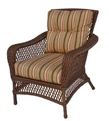 patio all weather wicker chairs wicker patio dining set long legged wicker armchair with brown