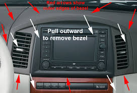 mygig install on 06 07 cherokee srt8 forum grab the radio plastic trim bezel both hands and pull to just dislodge it