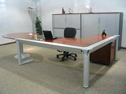 t shaped office desk. L Shape Office Desk Furniture Desks And Brown High Gloss Finish Wooden Top Computer . Business Shaped T
