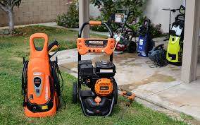 All About Pressure Washers And Nozzles Types Functions