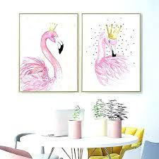 flamingo bathroom accessories pink elegant home decor poster paintings wall art bath towels for