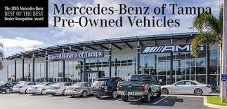 Maybe a dealership from which the big boys should learn on how to do. Used Cars Tampa Mercedes Benz Used Cars Tampa