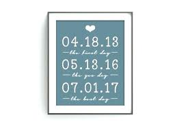 anniversary gift for husband full size of paper ideas wedding him the first day art 15