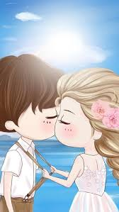 40 cute cartoon couple love images hd