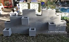 Small Picture Concrete block wall project for New Years DiggingDigging