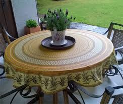 olive design coated provence tablecloth