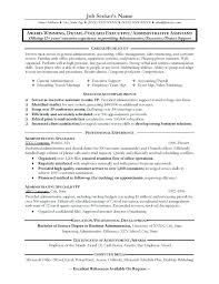 Examples Of Strong Resumes Strong Resume Examples Great Administrative Assistant Resumes