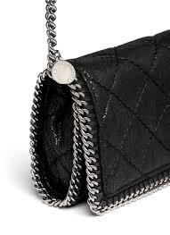 Stella mccartney 'falabella' Quilted Crossbody Chain Bag in Black ... & Gallery Adamdwight.com