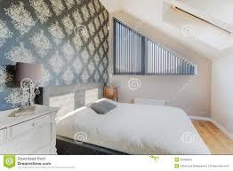 Oosters Behang In Slaapkamer Stock Afbeelding Afbeelding Bestaande