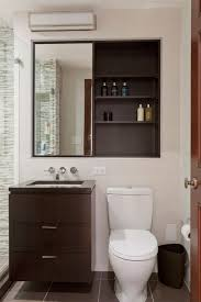 Recessed Bathroom Medicine Cabinets Modern Bathroom With Recessed Medicine Cabinet Installing
