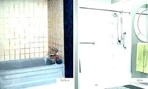 how to turn a bathtub into shower turning cost of t