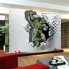 wall art 3d wallpaper avengers photo wallpaper custom hulk wallpaper unique design inside wall art paintings wall art 3d