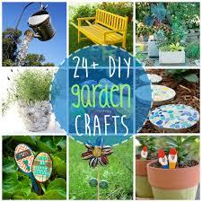 garden crafts. 24+ DIY Garden Crafts