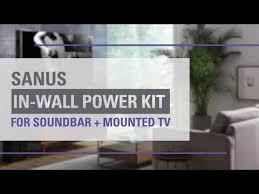 hide soundbar wires and tv cords behind