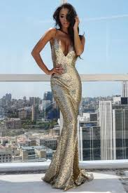 Alamour The Label Size Chart Alamour The Label Yassmine Gold Mermaid Sequin Formal Gown