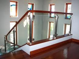 glass stair railings edmonton
