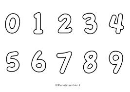 Disegni Numeri Da Colorare Fredrotgans