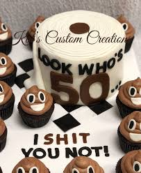 Toilet Paper Cake With Emoji Poop Cupcakes Men Cakes In 2019